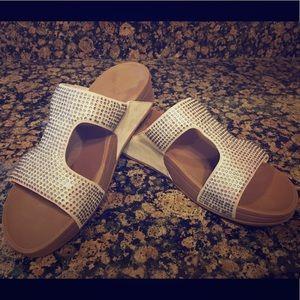 3401ef3c6cf24c Fitflop Shoes - EUC FitFlop Women s Rokkit Crystal Slide Sandal